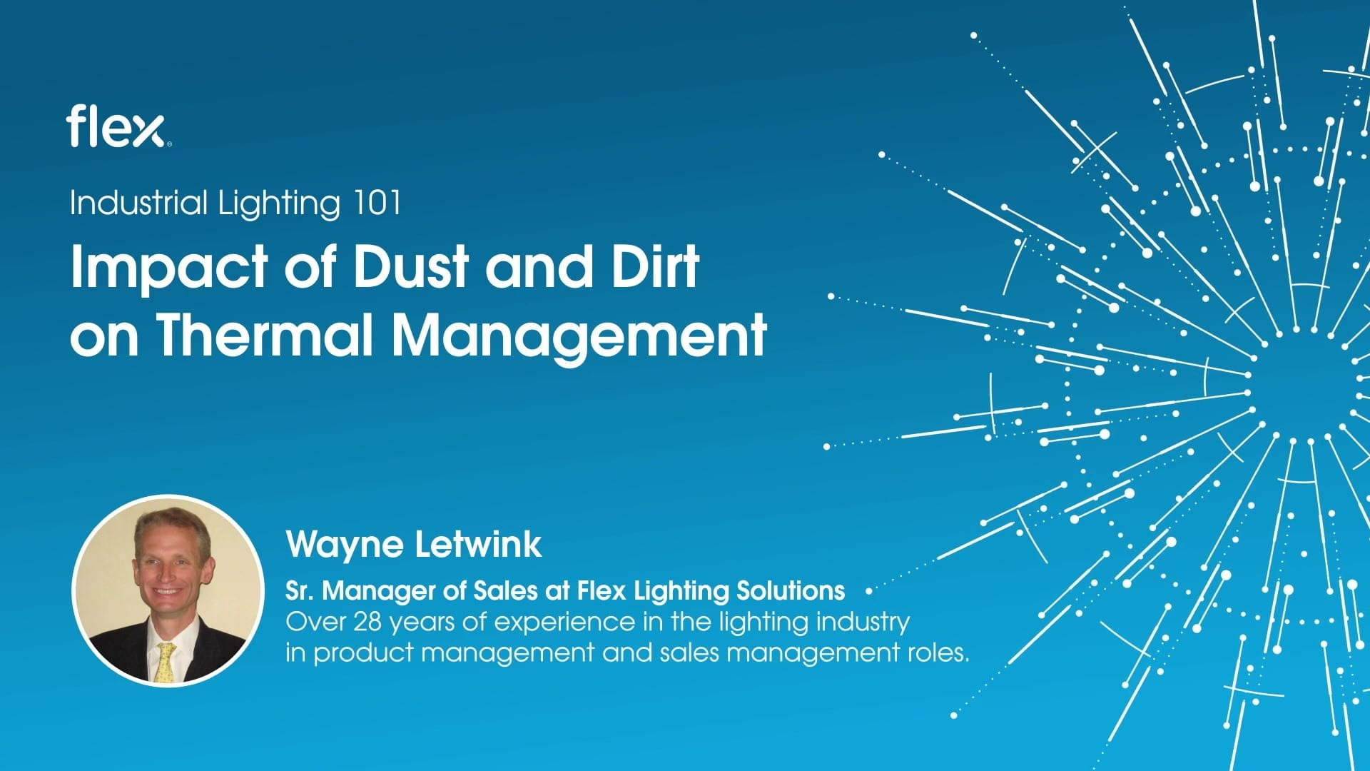 Industrial Lighting 101: Impact of dust and dirt on thermal management