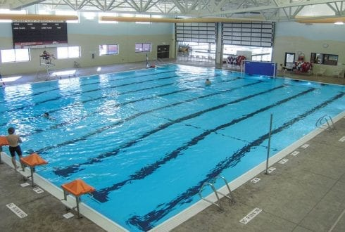 What to consider when lighting indoor swimming pools