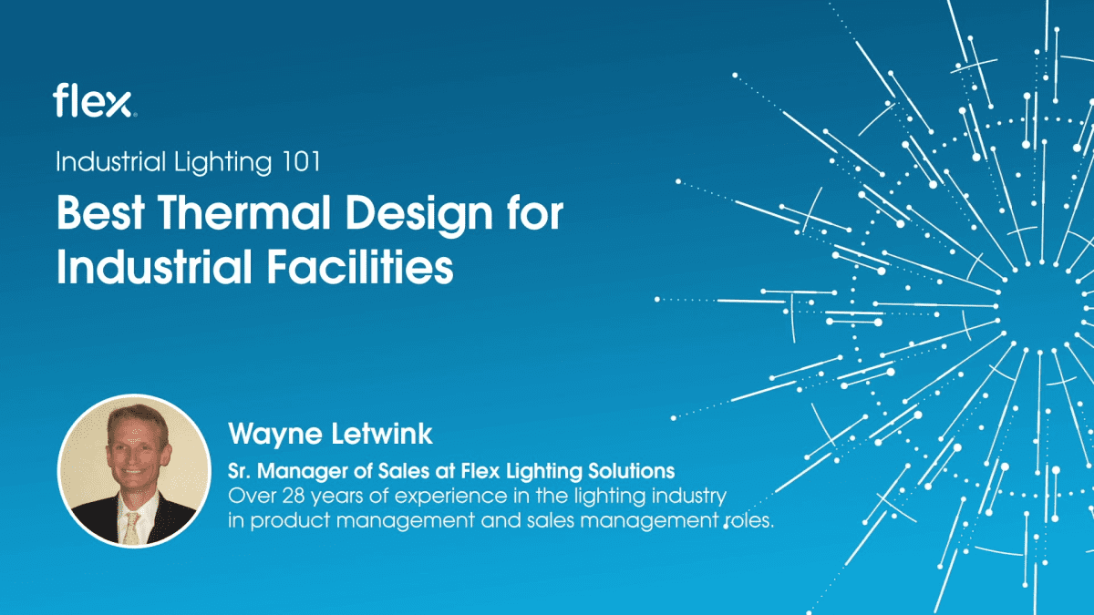 Industrial Lighting 101: Best thermal design for dirty industrial facilities